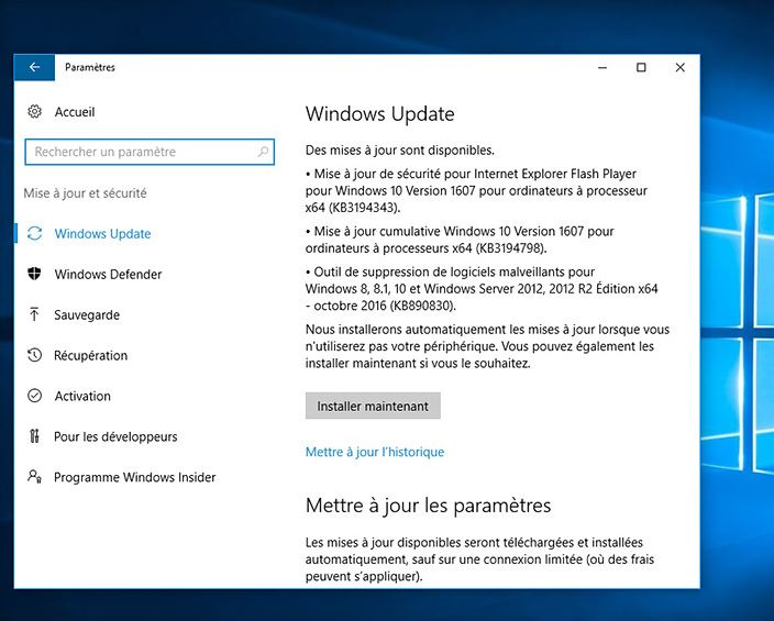 Blog 2sia Informatique -Windows 10 : Microsoft améliore